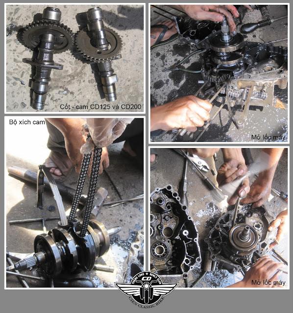 [Dự Án] Tân trang Honda Bently 125 - Phần 2