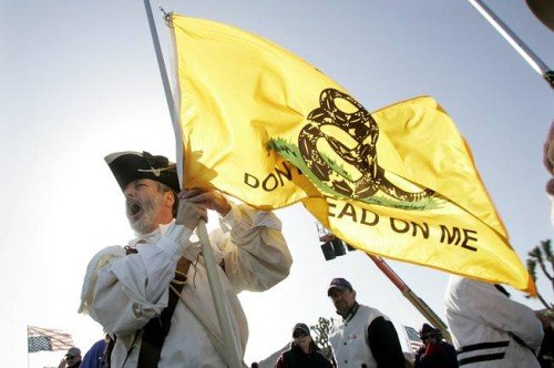 Report: More Than 100,000 Americans Are Domestic Terrorists Gadsden%2BFlag