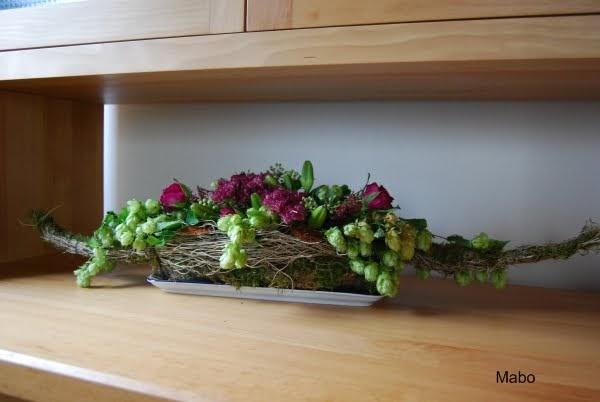 Mabo Blumendeko im Herbst ~ mit Anleitung