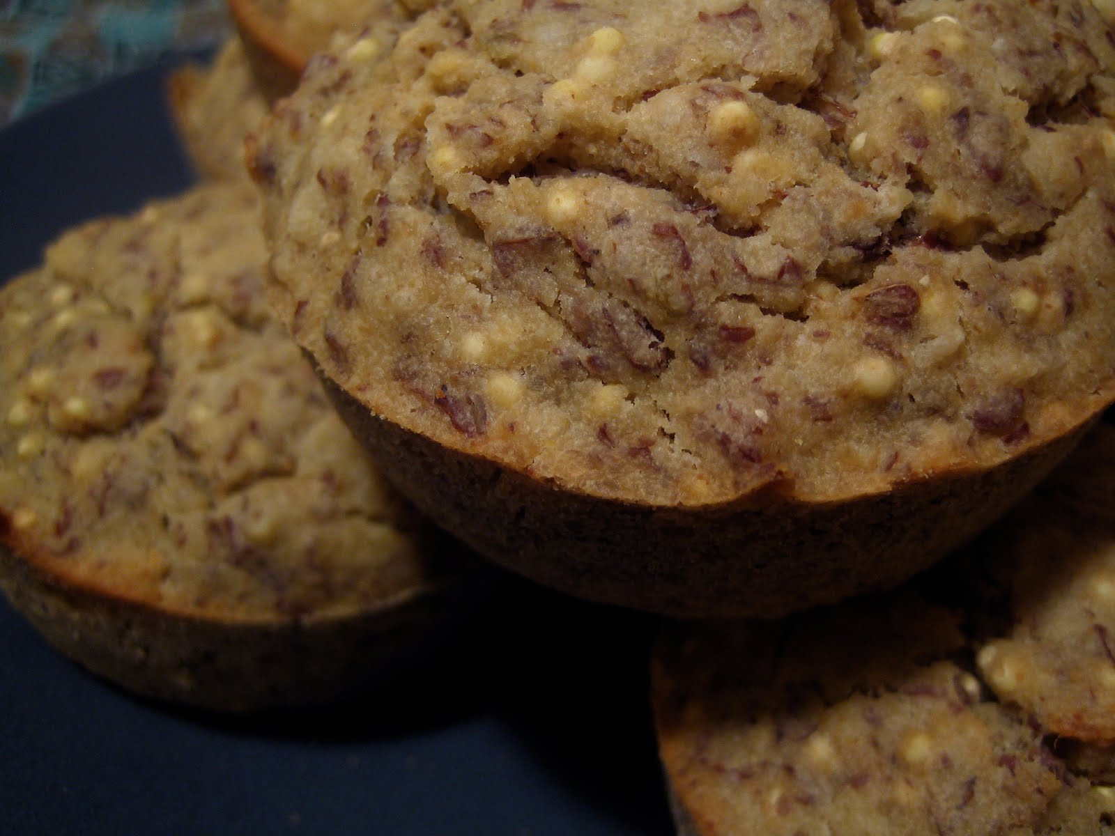 Millet Amazaké Muffins with Sesame and Anise (sugar free