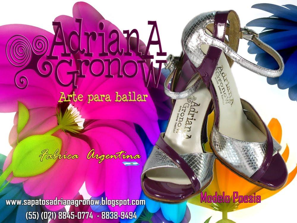 SAPATOS ADRIANA GRONOW- DANÇA DE SALÃO -sapatos para dança