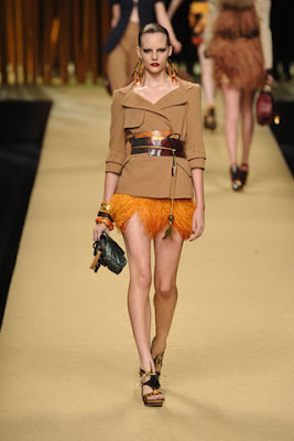louis vuitton fringed skirt