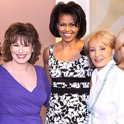 Michelle Obama wears Donna Ricco's dress on The View