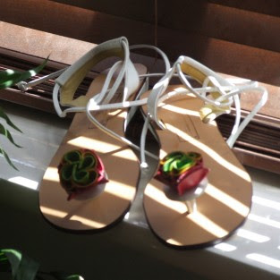 handmade leather sandals, leather sandals, summer sandals
