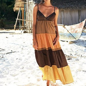 the boho look, maxi dress
