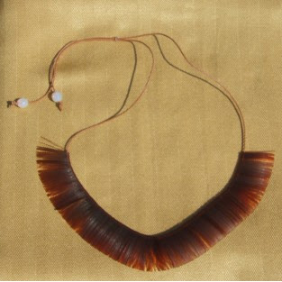 ethnic and tribal jewellery, fringe necklace
