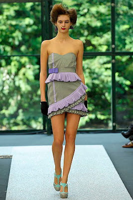 Spring 2009 ready to wear collection by Luella, frill dresses