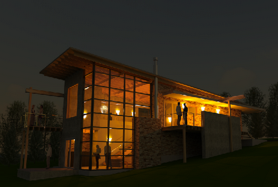Buildz photographing bim con 39 t - Revit exterior rendering settings ...