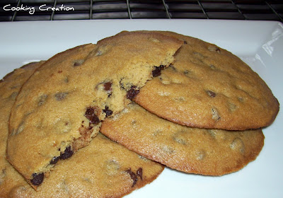 Cooking Creation: Best Big, Fat, Chewy Chocolate Chip Cookie