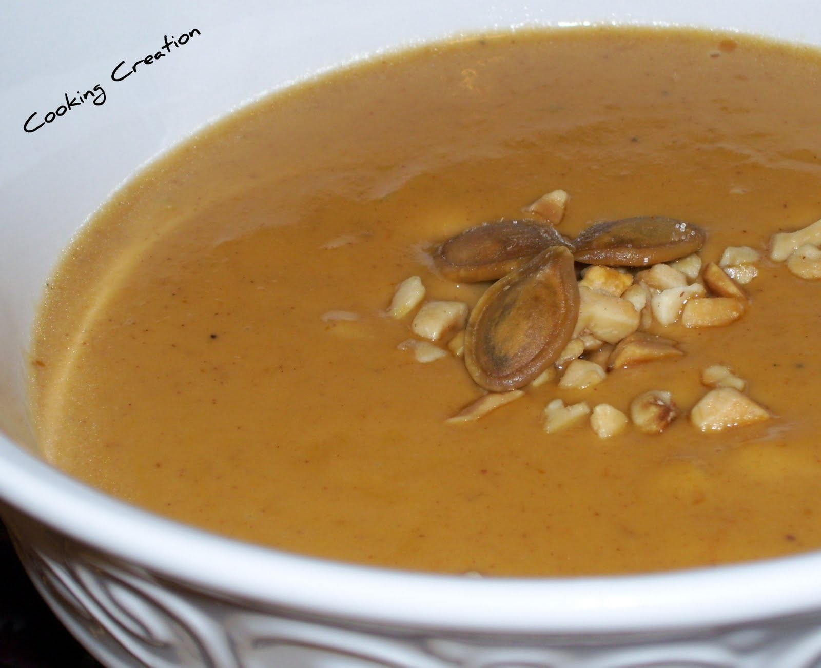 Peanut Butter Pumpkin Soup