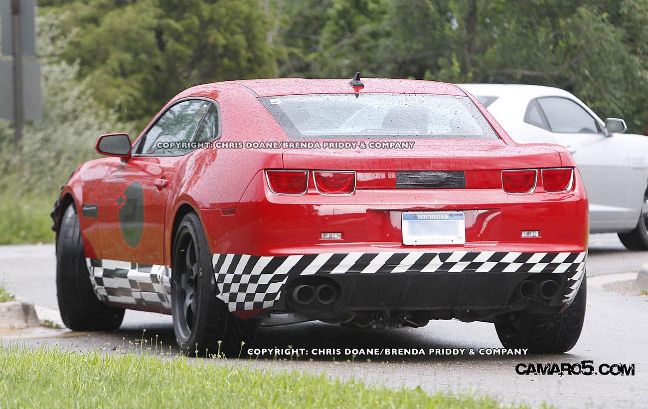 The Chevy Powerhouse in St. Louis: New Chevy Camaro Z28 spy photos