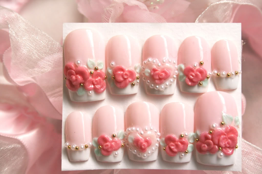 Cute 3d nail art joy studio design gallery best design for 3d nail art salon