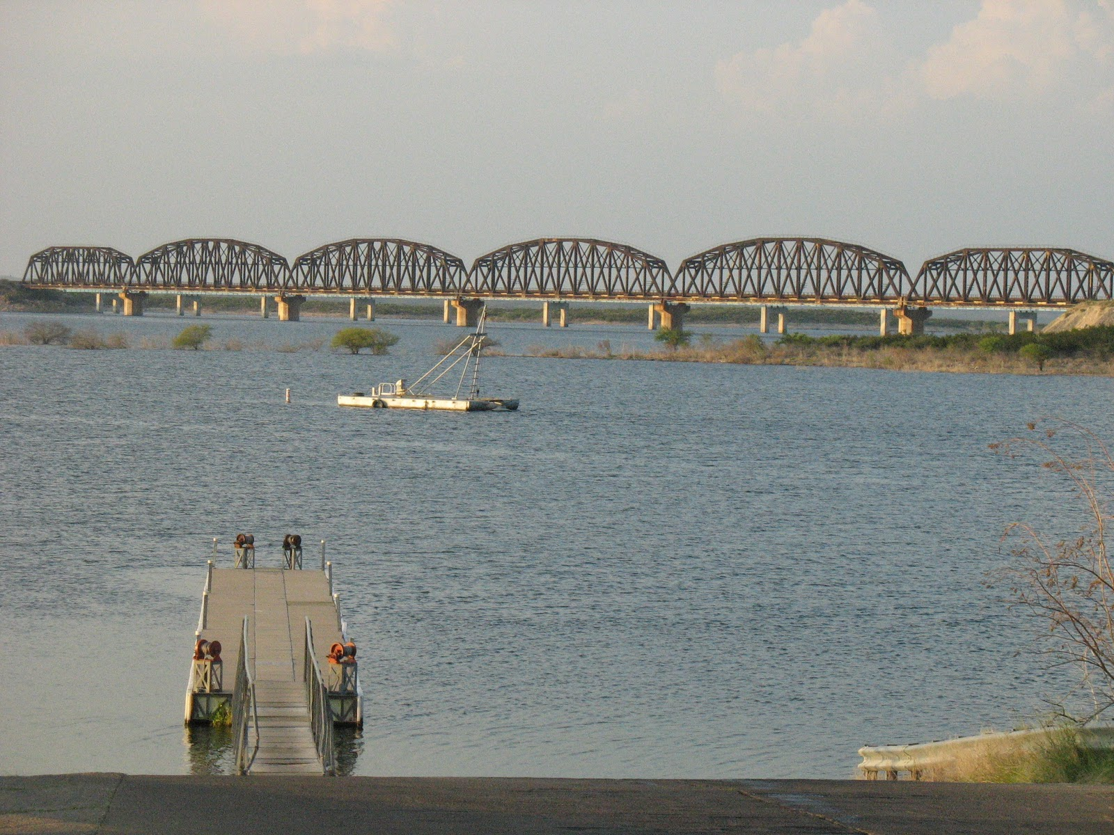 Listo del rio andale lake amistad for Lake amistad fishing