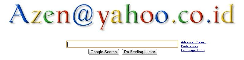 Trik Mengganti Nama Search Engine Google dengan Nama Sendiri