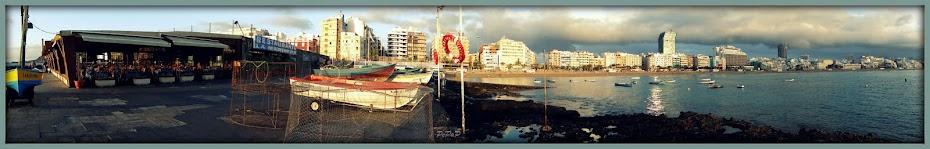 Una ciudad con 3 playas