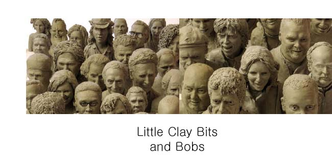 little clay bits