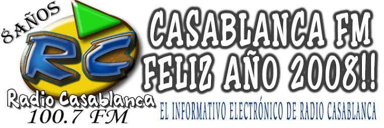 Yo Escucho! Casablanca FM 100.7 - 8 AÑOS
