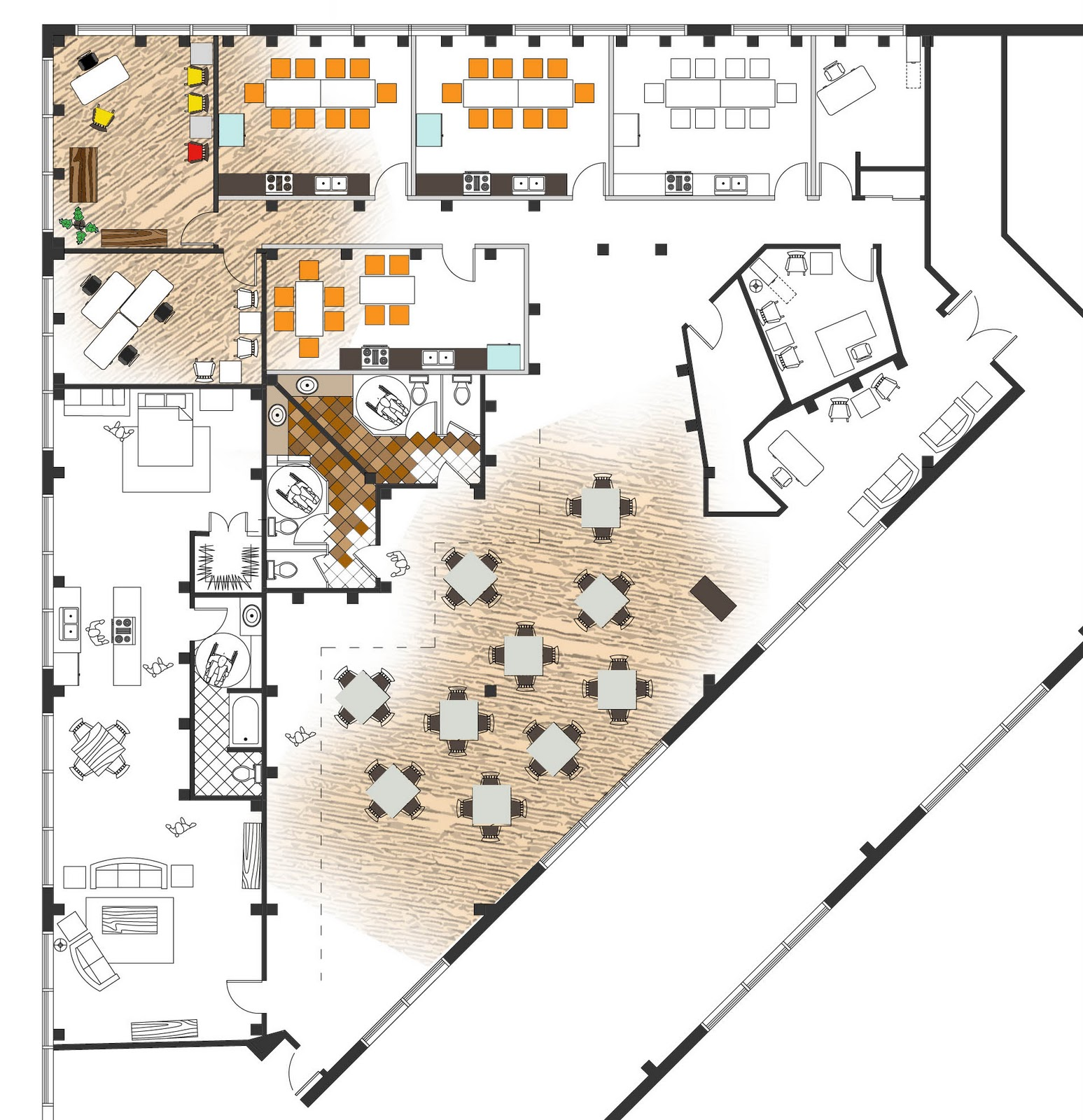 The design spot interiors design for the culinary arts - College of design construction and planning ...