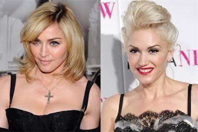 Madonna y Gwen Stefani