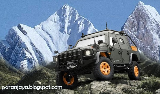 Get any where you want with the g wagon lapv 6 x concept for Mercedes benz g wagon lapv 6 x