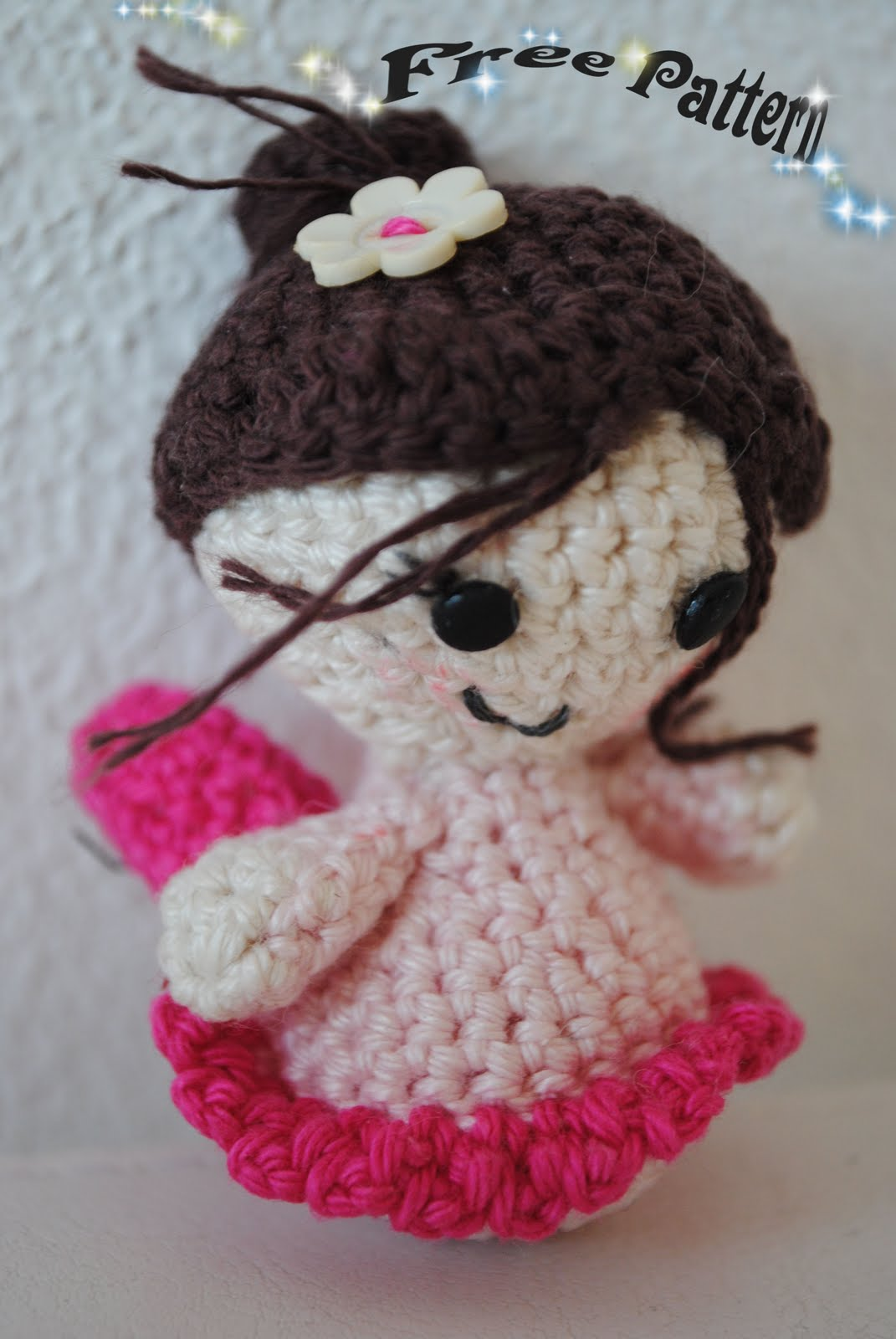 Amigurumi Tooth Fairy : Fun and Fang: Free Pattern: Little Fairy