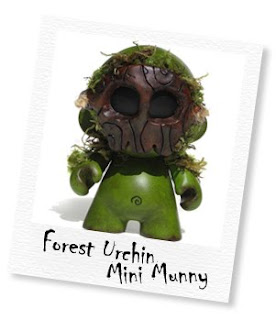 forest urchin mini munny