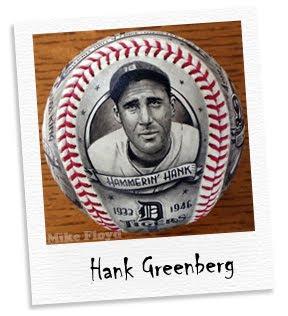 hammerin' hank greenberg baseball