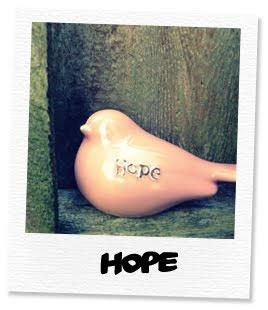 pink bird hope