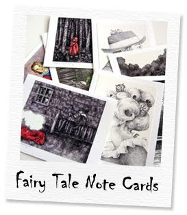 fairy tale note cards
