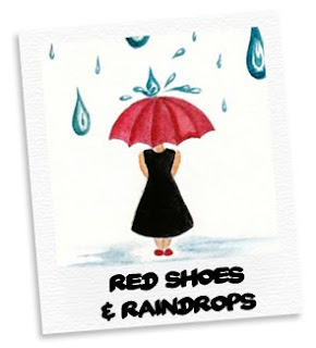 red shoes & raindrops