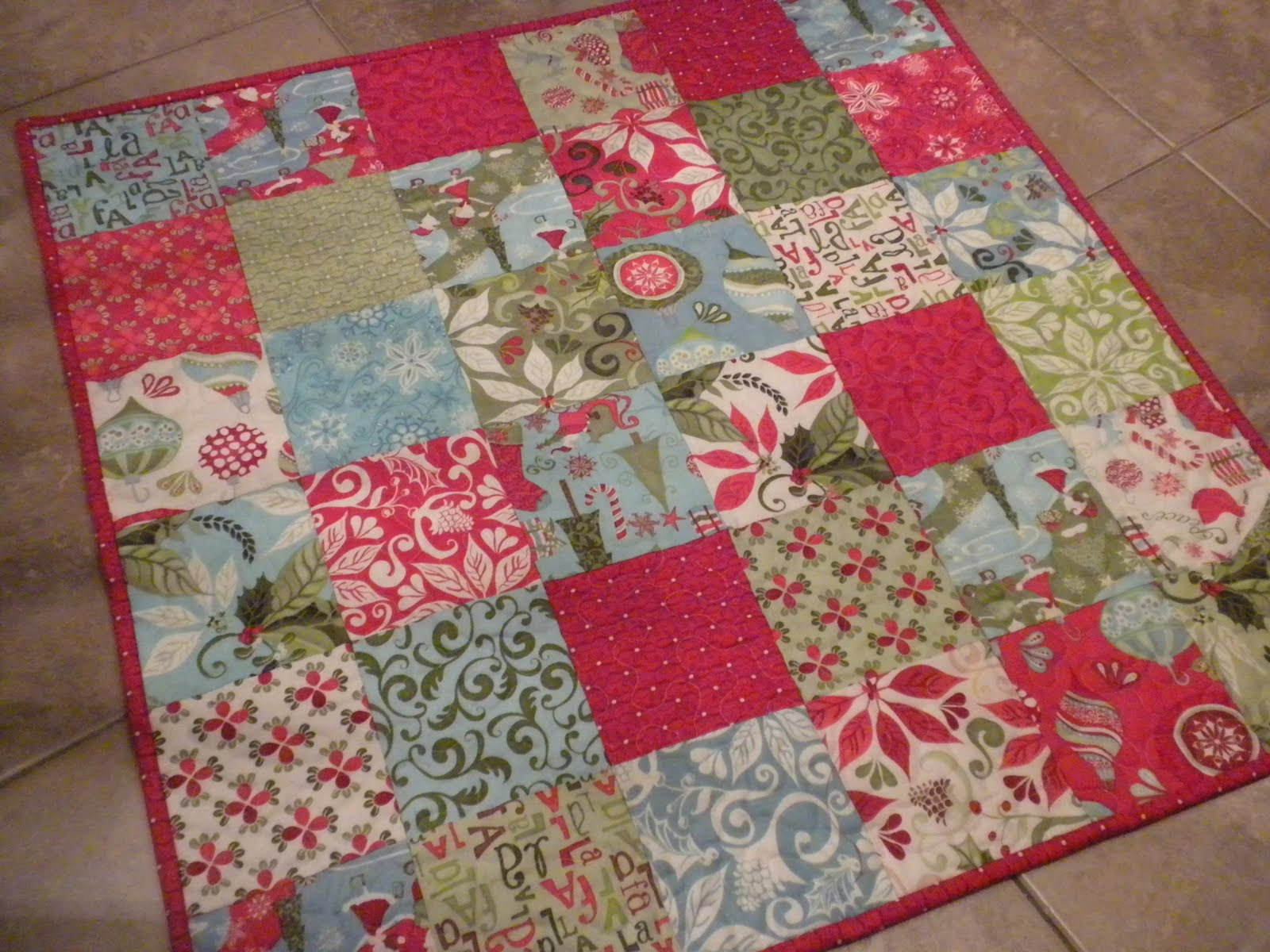 Small Quilted Gift Ideas To Make : Sewing Sisters: Christmas sewing projects