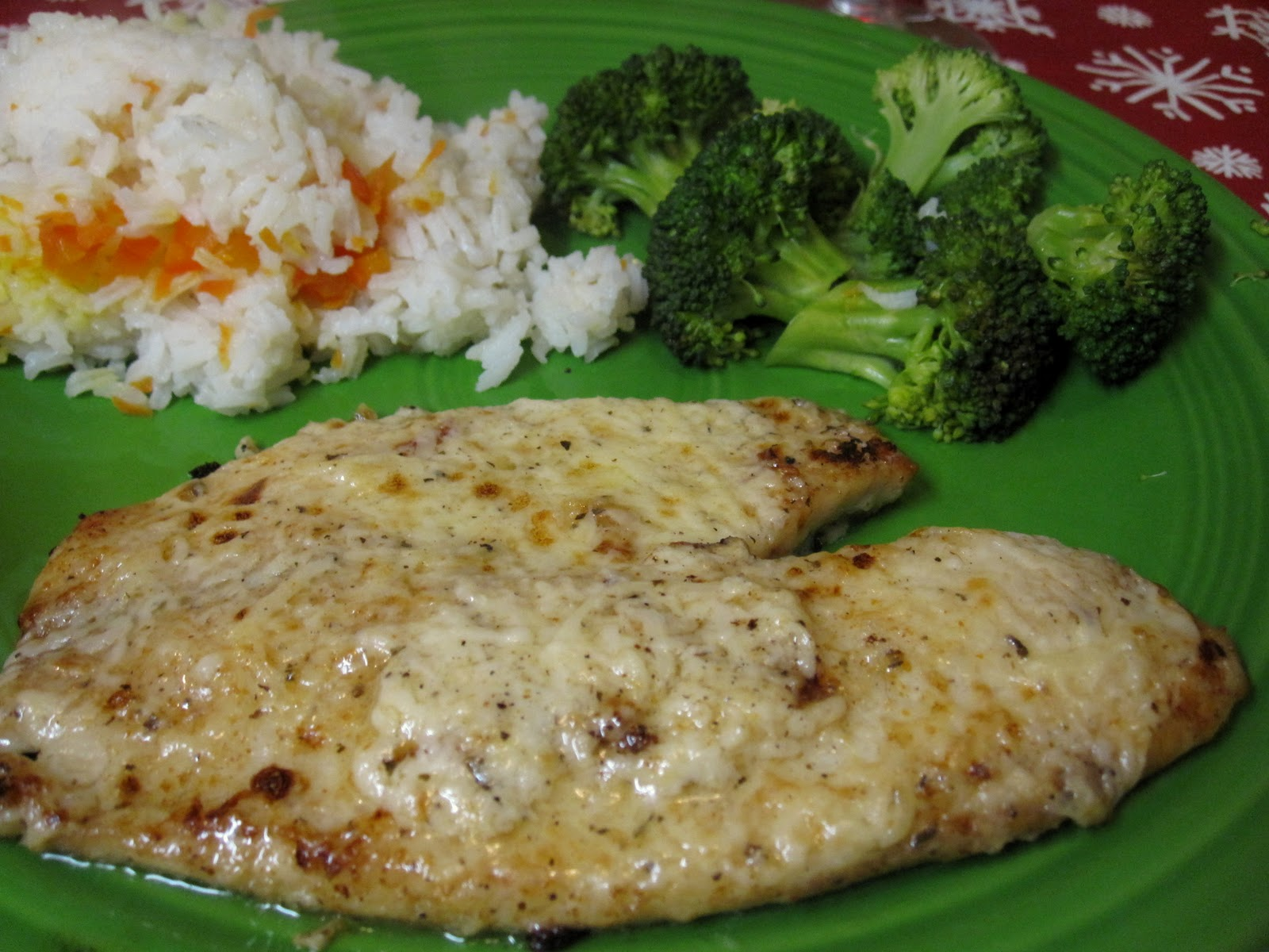 Elizabeth 39 s dutch oven broiled tilapia parmesan for Broil fish in oven