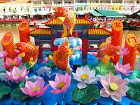 Lantern Festival floats - Clarke Quay