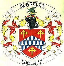 Blakeley coat of arms