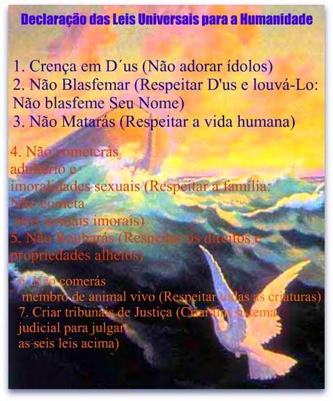 As Leis para os Filhos de Noé
