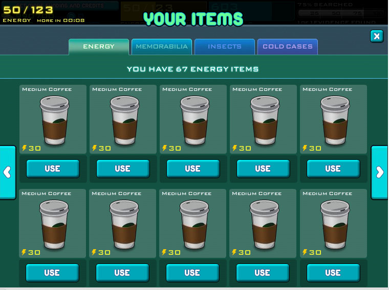 Michelle S Facebook Games Cheats Csi Crime City Energy Cheat