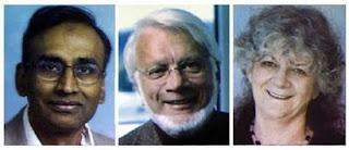 Dr Venkataraman Ramakrishnan, Thomas Steitz and Ada Yonath