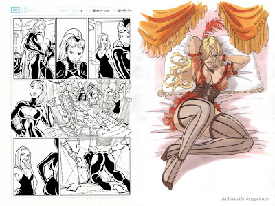 This is really a teaser posting, because the soft-erotic graphic novel La ...