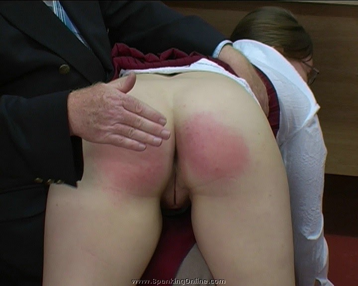 Single how spank without bruise