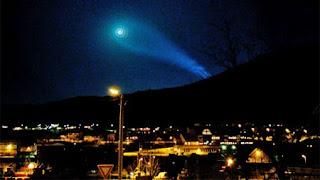 noruega espiral extraterrestre cielo enigma misterio
