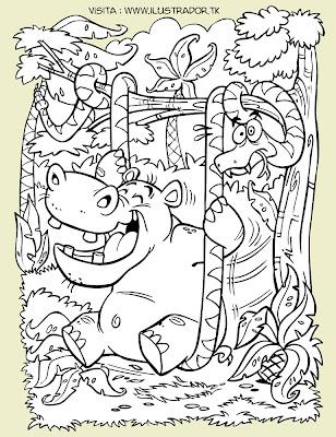 """Oye hipopótamo, ponte a dieta de una buena vez!"""""""