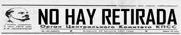 NO HAY RETIRADA