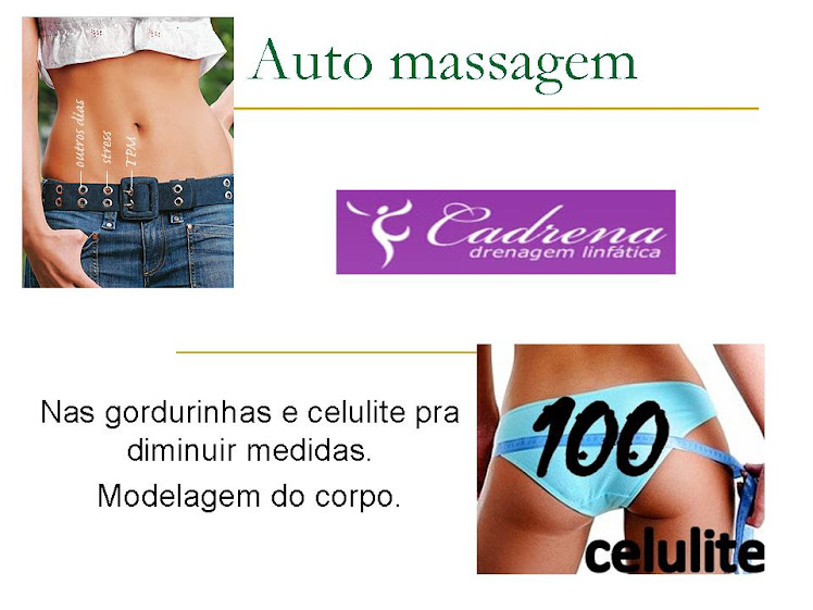 Auto massagem.