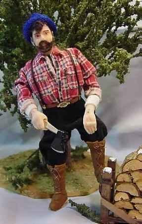 a lumberjack