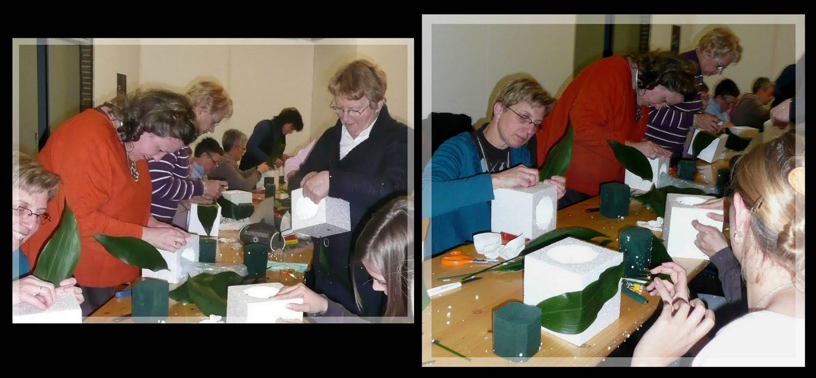 Atelier art floral antoing cube d 39 automne bis - Laisser libre cours a son imagination ...