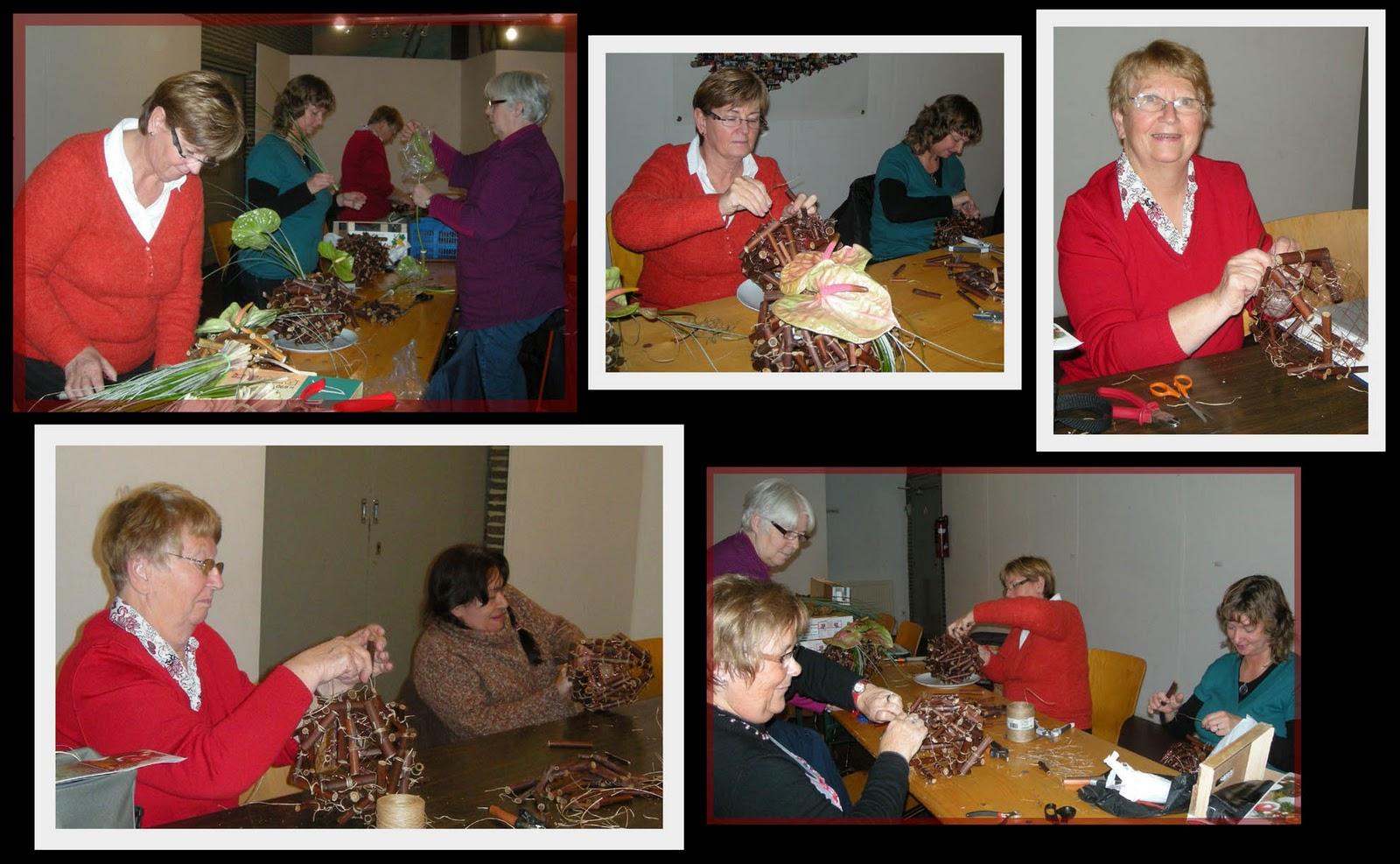 Atelier art floral antoing atelier du 15 novembre 2010 - Laisser libre cours a son imagination ...