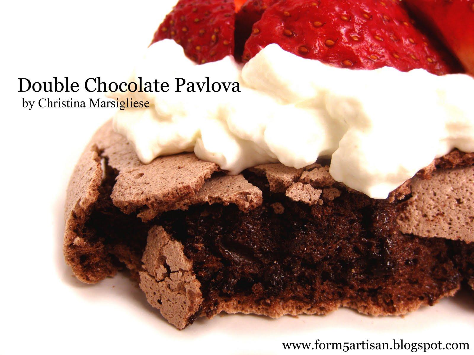 Double Chocolate Pavlova