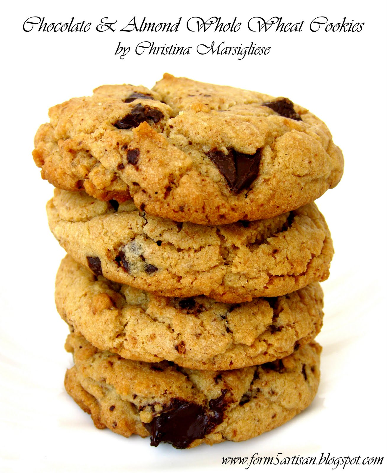 Scientifically Sweet: Whole Wheat Chocolate Chunk Cookies