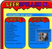 Naar de site Leerspellen.nl