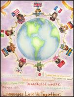 Afbeelding van poster: languages link us together